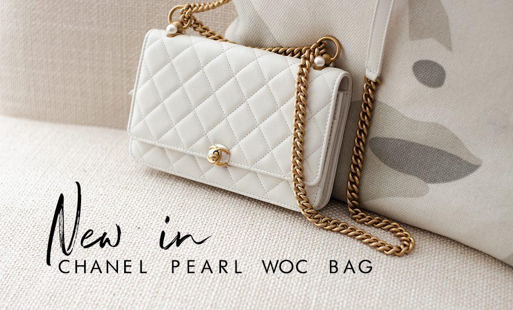 Chanel WOC Pearl bag   As Seen by Alex
