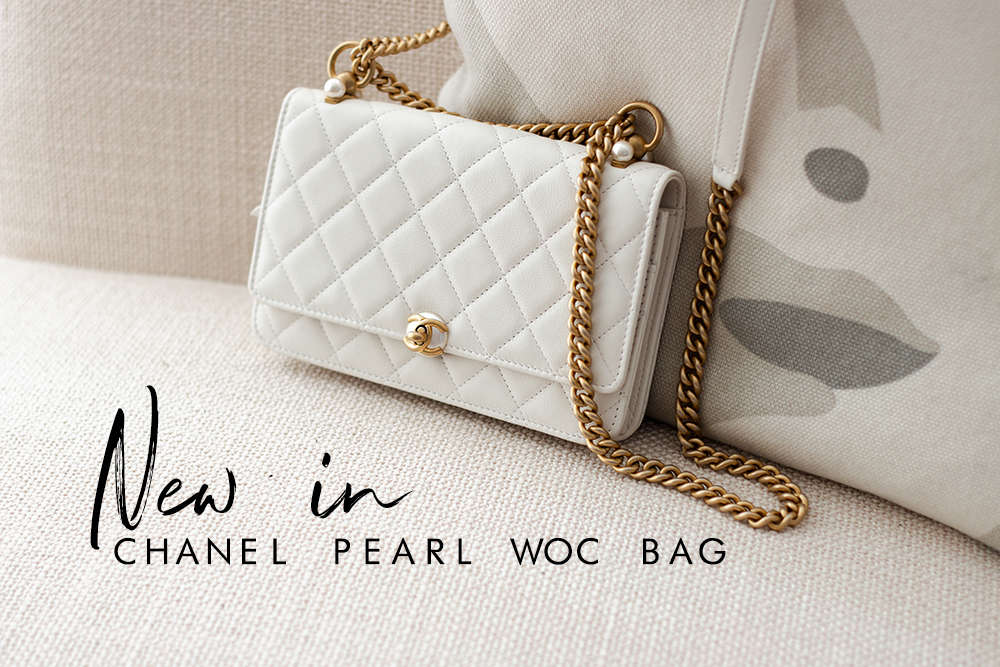 Chanel WOC Pearl bag | As Seen by Alex
