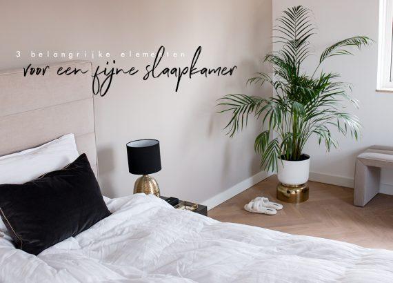 Slaapkamer essentials - Mijn 3 essentiële elementen voor een fijne slaapkamer - As Seen by Alex